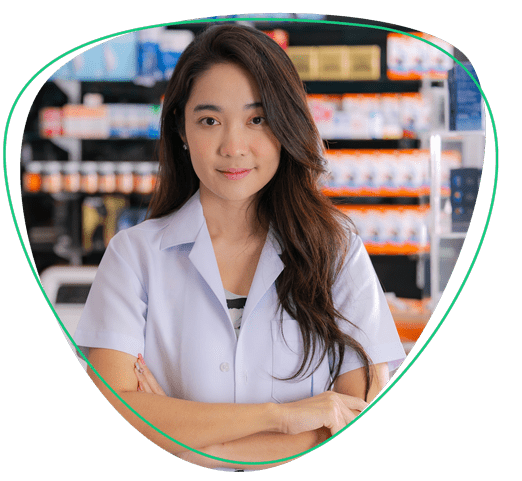 mClinica Pharmacy Solution pharmacist girl our story