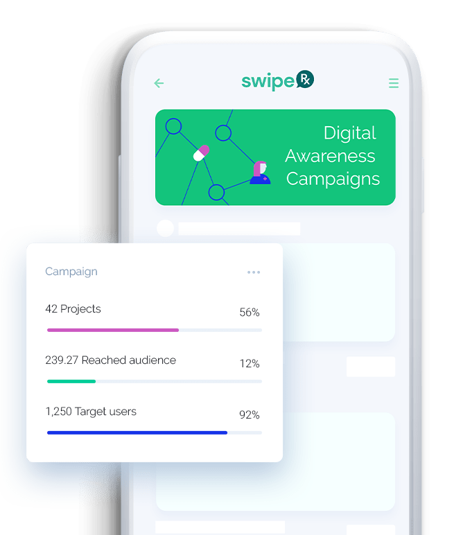 mClinica Pharmacy Solution SwipeRx mobile app features digital awareness campaigns